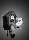 Cartoon: House Arrest... (small) by berk-olgun tagged house,arrest