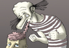 Cartoon: Italian Zombie. (small) by berk-olgun tagged italian,zombie