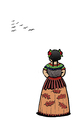Cartoon: Kahlo... (small) by berk-olgun tagged kahlo