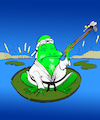 Cartoon: Karate Frog... (small) by berk-olgun tagged karate,frog