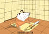 Cartoon: Letter Opener... (small) by berk-olgun tagged harakiri