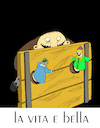 Cartoon: Life is Beautiful... (small) by berk-olgun tagged life,is,beautiful