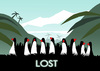 Cartoon: LOST.. (small) by berk-olgun tagged lost
