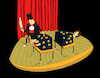 Cartoon: Magician... (small) by berk-olgun tagged magician