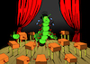 Cartoon: Magician Centipede... (small) by berk-olgun tagged magician,centipede