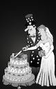 Cartoon: Magician Wedding... (small) by berk-olgun tagged magician,wedding