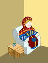 Cartoon: Nesting Table... (small) by berk-olgun tagged nesting,table