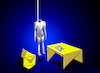 Cartoon: Origamic Suicide Letter... (small) by berk-olgun tagged origamic,suicide,letter