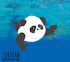 Cartoon: Pandana... (small) by berk-olgun tagged pandana