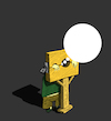 Cartoon: Pillory... (small) by berk-olgun tagged pillory