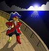 Cartoon: Pirate Pinocchio... (small) by berk-olgun tagged pirate,pinocchio