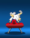 Cartoon: Pommel Camel... (small) by berk-olgun tagged pommel,camel