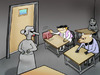 Cartoon: prazan.. (small) by berk-olgun tagged prazan