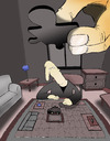 Cartoon: Puzzle... (small) by berk-olgun tagged puzzle