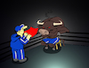 Cartoon: Raging Bull... (small) by berk-olgun tagged raging,bull