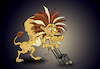 Cartoon: Retired Circus Lion... (small) by berk-olgun tagged retired,circus,lion