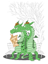 Cartoon: Retired Dragons... (small) by berk-olgun tagged retired,dragons