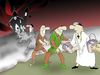 Cartoon: ROBIN HOOD... (small) by berk-olgun tagged robin,hood