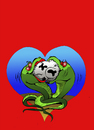 Cartoon: Romanticism... (small) by berk-olgun tagged romanticism