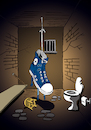 Cartoon: Shoe Jail... (small) by berk-olgun tagged shoe,jail