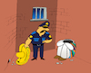 Cartoon: Siesta Escape... (small) by berk-olgun tagged siesta,escape
