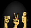 Cartoon: Stone Paper Scissors... (small) by berk-olgun tagged stone,paper,scissors
