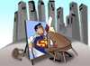 Cartoon: Street Painter.. (small) by berk-olgun tagged street painter