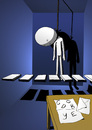 Cartoon: Suicide... (small) by berk-olgun tagged hangman
