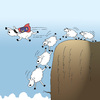 Cartoon: Super Sheep... (small) by berk-olgun tagged super,sheep