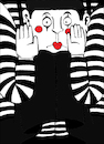 Cartoon: The Best Mime... (small) by berk-olgun tagged the,best,mime