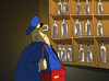 Cartoon: The Postman... (small) by berk-olgun tagged the,postman