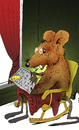 Cartoon: The Retired Mouse... (small) by berk-olgun tagged the,retired,mouse