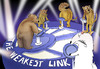 Cartoon: The Weakest Link... (small) by berk-olgun tagged the,weakest,link