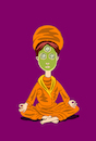 Cartoon: Third Eye... (small) by berk-olgun tagged third,eye