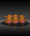Cartoon: Three Monkeys... (small) by berk-olgun tagged three,monkeys