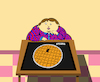 Cartoon: Turkish Baklava Puzzle... (small) by berk-olgun tagged turkish,baklava,puzzle