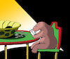 Cartoon: Turtle Poker... (small) by berk-olgun tagged turtle,poker