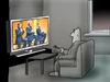 Cartoon: TV.. (small) by berk-olgun tagged tv
