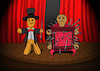 Cartoon: Voodoo Magician... (small) by berk-olgun tagged voodoo,magician