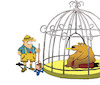 Cartoon: Zoo... (small) by berk-olgun tagged zoo