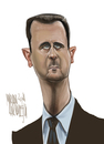 Cartoon: Bashar Al Assad (small) by Marian Avramescu tagged mmmmmmmmmmmmm