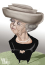 Cartoon: BEATRIX (small) by Marian Avramescu tagged mmmmmmm