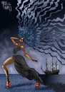 Cartoon: Black Sea (small) by Marian Avramescu tagged mmmmmmmmm