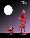 Cartoon: factory of love (small) by Marian Avramescu tagged mmmmm
