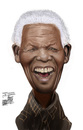 Cartoon: Mandela (small) by Marian Avramescu tagged mmmmmmmmmmmm