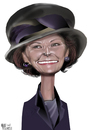 Cartoon: Queen Sonja of Norway (small) by Marian Avramescu tagged mmmmmmmmmmm