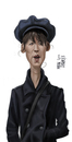 Cartoon: Sophie Marceau (small) by Marian Avramescu tagged mmm