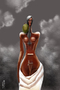 Cartoon: SYMPHONY 2 (small) by Marian Avramescu tagged mav