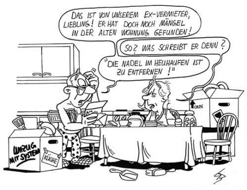 Cartoon umzug medium by glenn m bülow tagged umzug wohnung mieter