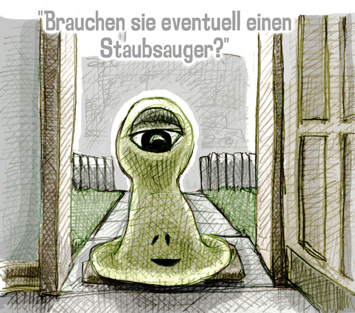 staubsauger By jenapaul  Nature Cartoon  TOONPOOL -> Staubsauger English